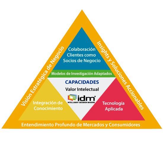 Pirámide Capacidades IDM